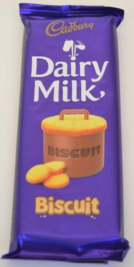Picture of Cadbury Dairy Milk Biscuit Slab 90g