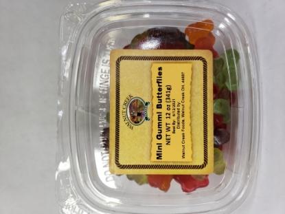 Picture of Walnut Creek Mini Gummi Butterflies 12oz / 341g